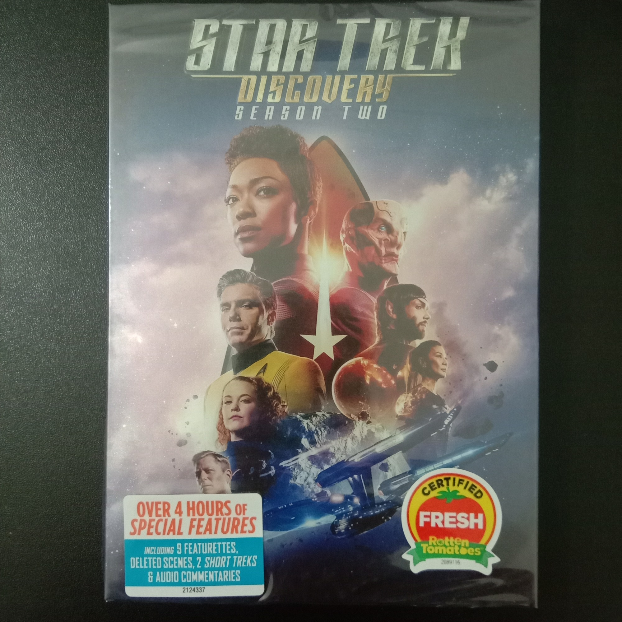 Star Trek: Discovery Season 2 (DVD,4-Disc) New + Free shipping