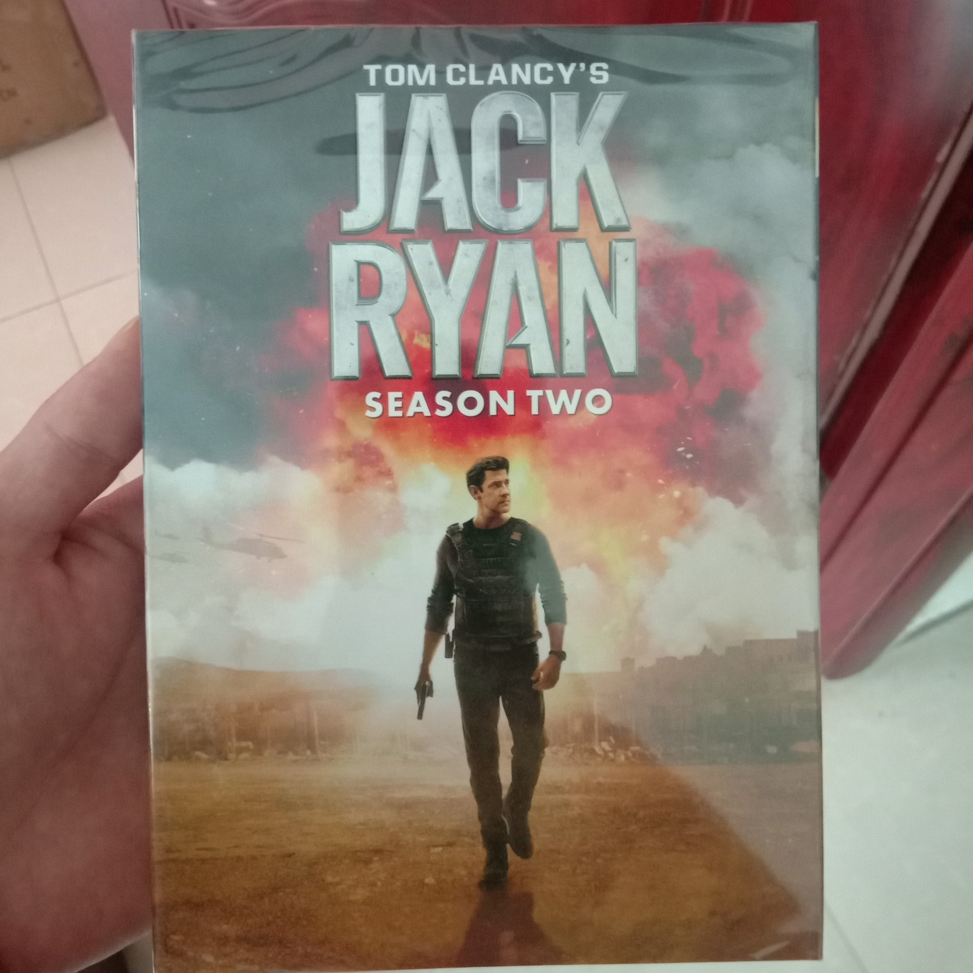 Jack Ryan Season 2 (DVD,3-Disc) New + Free shipping