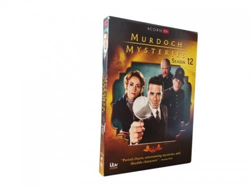 Murdoch Mysteries 12 (DVD,5-Disc) New + Free shipping