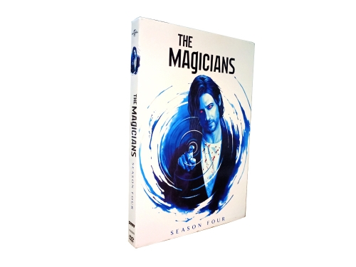 The Magicians Season 4 (DVD,4-Disc) New + Free shipping