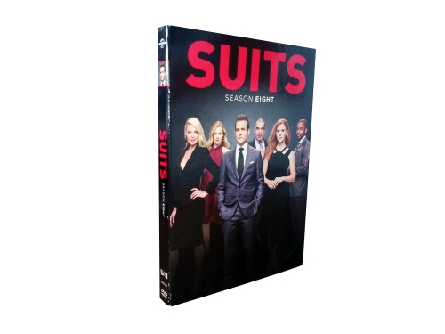 Suits Season 8 (DVD,4-Disc) New + Free shipping