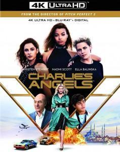 Charlie's Angels (4K UHD) New + Free shipping