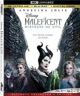 Maleficent 2  (4K UHD) New + Free shipping