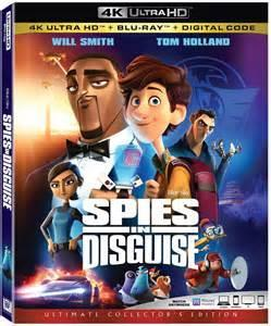 Spies in Disguise (4K UHD) New + Free shipping