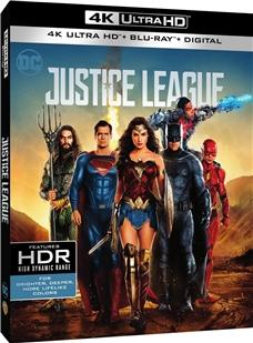 Justice League (4K UHD) New + Free shipping