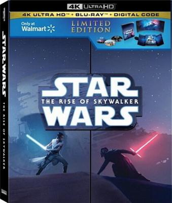 Star Wars 9: The Rise of Skywalker (4K UHD) New + Free shipping