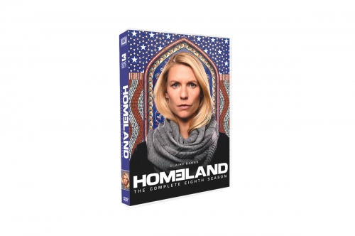 Homeland Season 8 (DVD,3-Disc) New + Free shipping