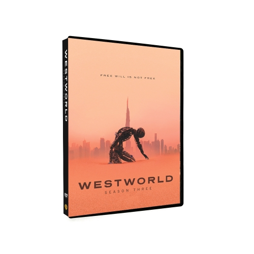 Westworld Season 3 (DVD,3-Disc) New + Free shipping