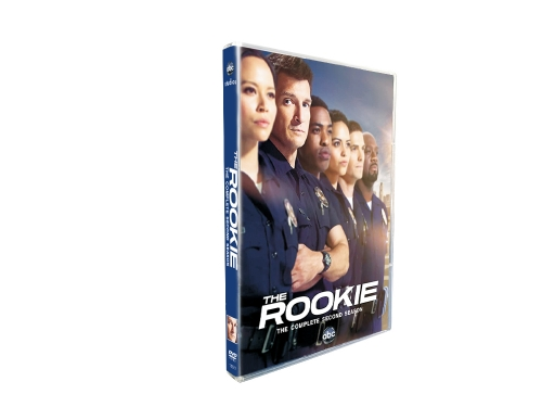 The Rookie Season 2 (DVD,4-Disc) New + Free shipping
