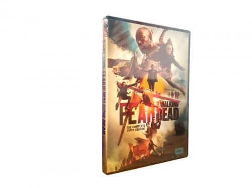 Fear the Walking Dead Season 5 (DVD,4-Disc) New + Free shipping