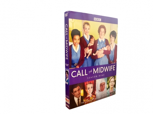 Call The Midwife Season 9 (DVD,3-Disc) New + Free shipping
