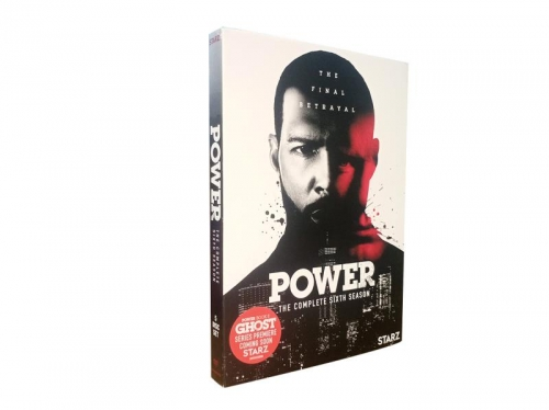 Power Season 6 (DVD,5-Disc) New + Free shipping