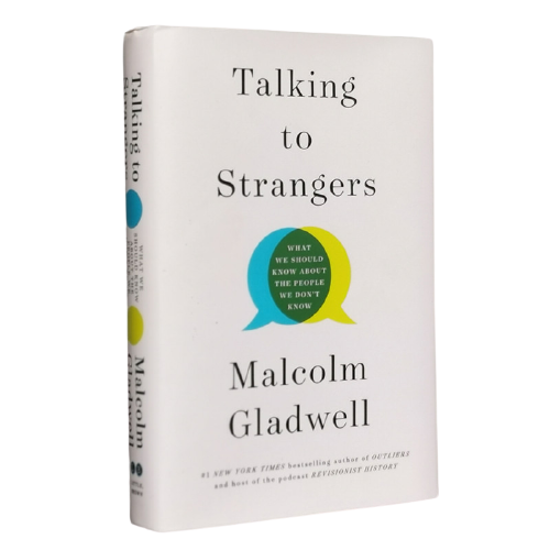Talking to Strangers New Book + Free shipping